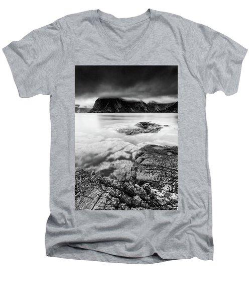 Stormy Lofoten Men's V-Neck T-Shirt