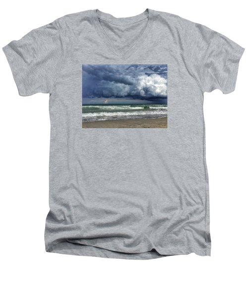 Stormy Ocean Men's V-Neck T-Shirt