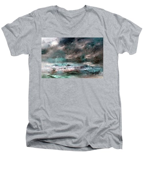 Stormy Sky Men's V-Neck T-Shirt