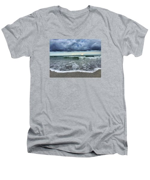 Stormy Waves Men's V-Neck T-Shirt