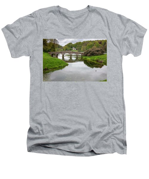 Stourhead Men's V-Neck T-Shirt