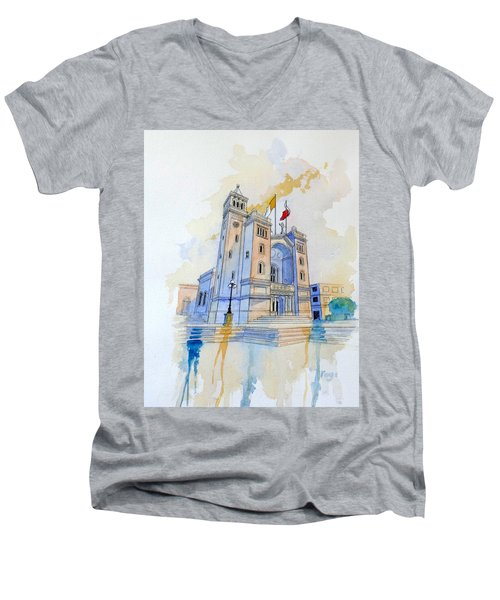 St.peter In Chains II Men's V-Neck T-Shirt