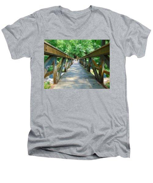 Straight - Narrow Men's V-Neck T-Shirt