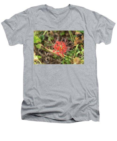 Strange Flower Men's V-Neck T-Shirt
