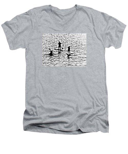 Strange Journey Men's V-Neck T-Shirt