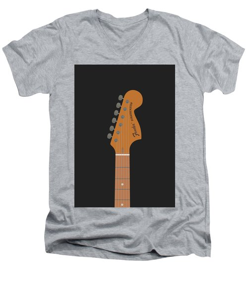 Stratocaster Guitar Men's V-Neck T-Shirt