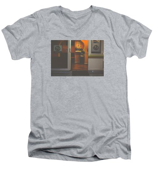 Street Coffee Men's V-Neck T-Shirt