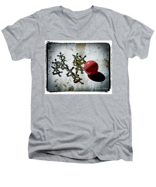 Street Games Men's V-Neck T-Shirt