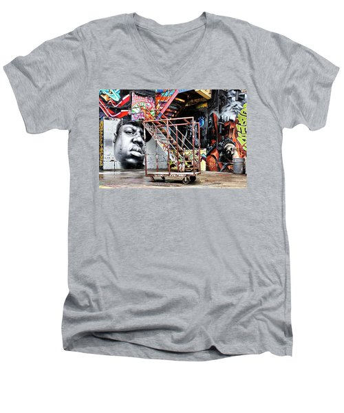 Street Portraiture Men's V-Neck T-Shirt