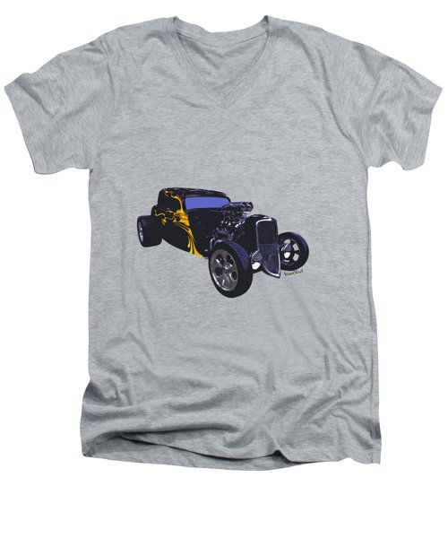 Street Rod What Is It Men's V-Neck T-Shirt