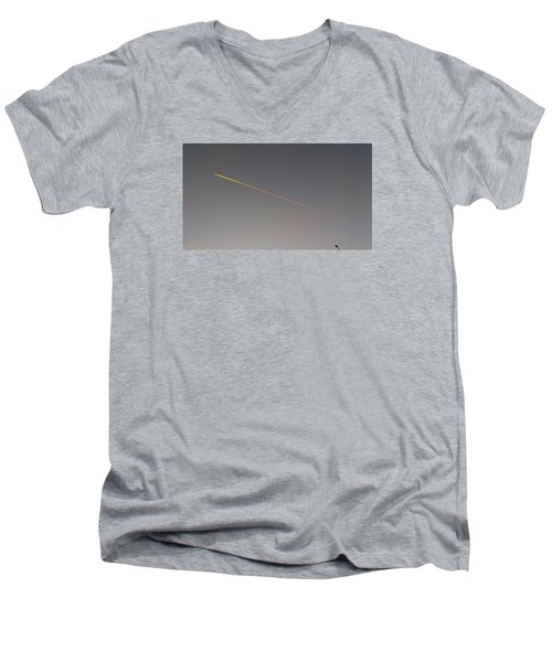Streetlight Men's V-Neck T-Shirt
