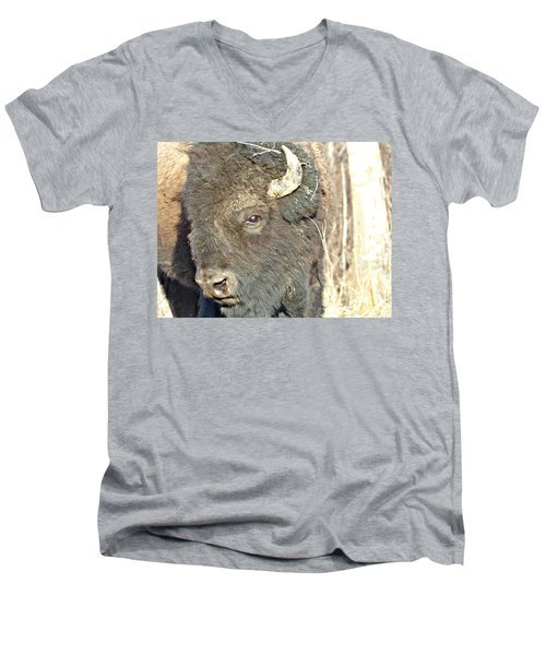 Strike A Pose Men's V-Neck T-Shirt