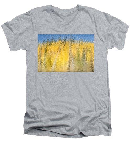 Striking Gold Men's V-Neck T-Shirt