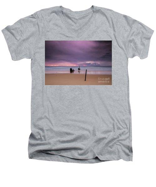Storm Brewing Men's V-Neck T-Shirt