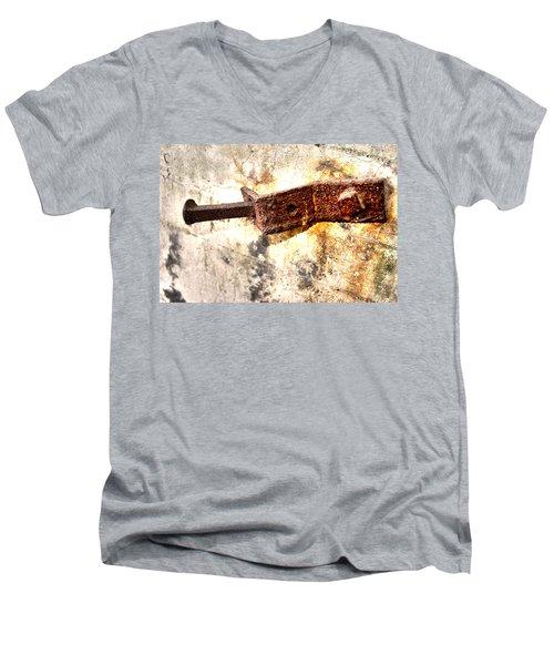 Strong Men's V-Neck T-Shirt