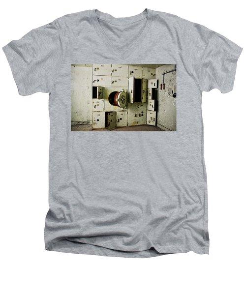 Stronghold At The Morton Hotel Men's V-Neck T-Shirt