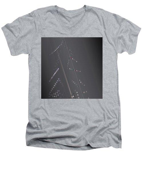 Strung Art Men's V-Neck T-Shirt