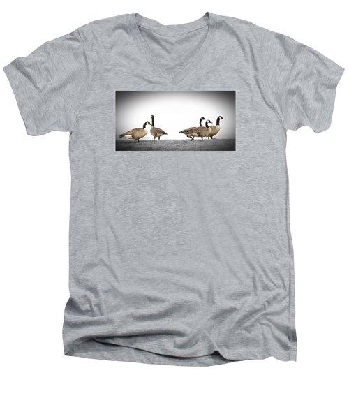 Struttin' Our Stuff Men's V-Neck T-Shirt