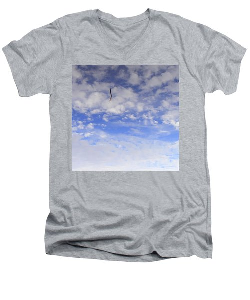 Stuck In The Clouds Men's V-Neck T-Shirt