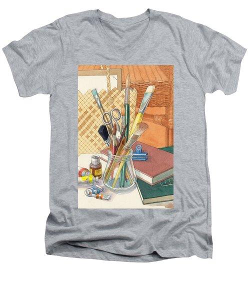 Studio Men's V-Neck T-Shirt
