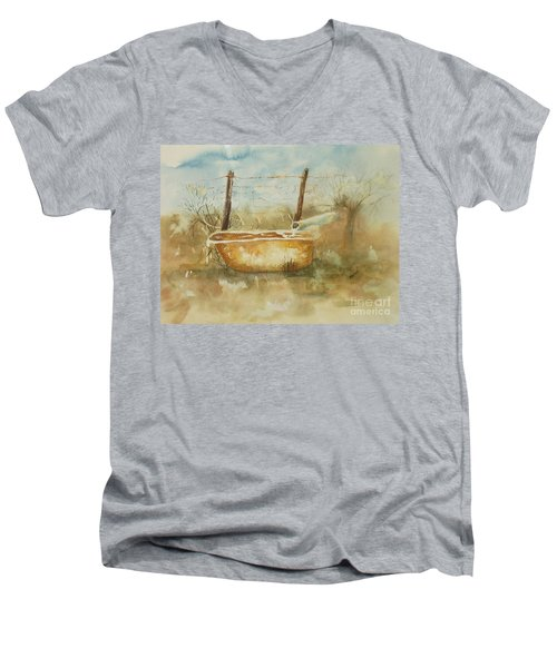 Study Of A Watering Tub Men's V-Neck T-Shirt
