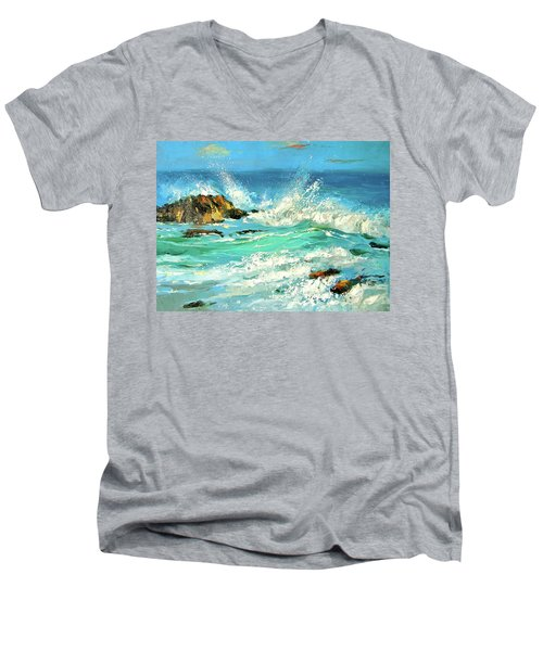 Study Wave Men's V-Neck T-Shirt