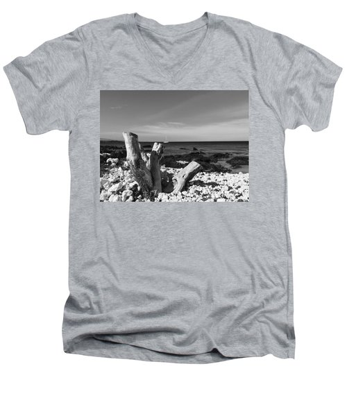 Stumped Men's V-Neck T-Shirt
