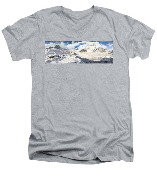 Stunning Nepal - Ebc Men's V-Neck T-Shirt
