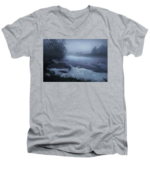 Sturgeon River Men's V-Neck T-Shirt