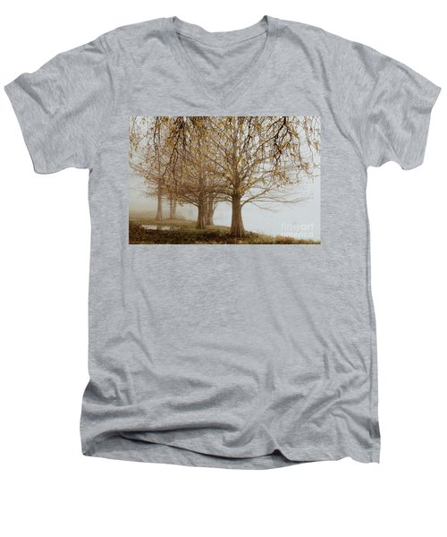 Men's V-Neck T-Shirt featuring the photograph Sublime by Iris Greenwell