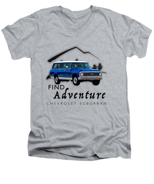 Suburban Adventure Men's V-Neck T-Shirt