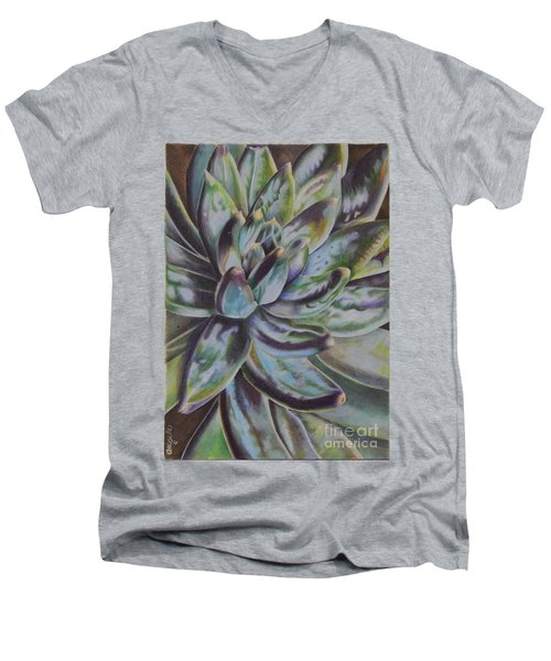 Succulent Men's V-Neck T-Shirt