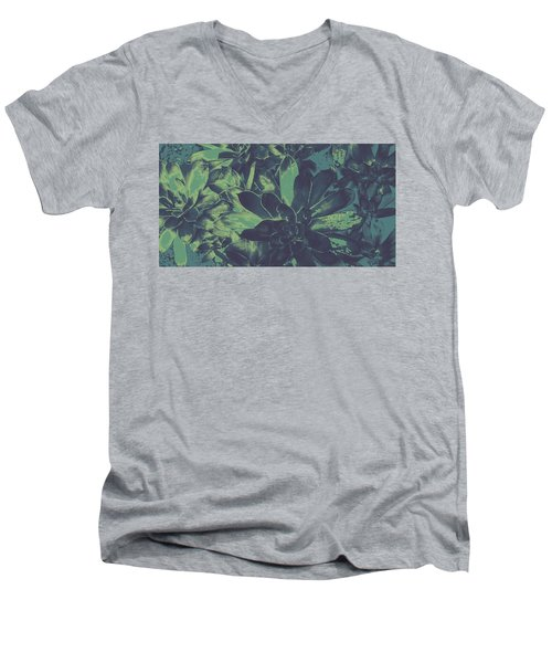 Succulents #2 Men's V-Neck T-Shirt
