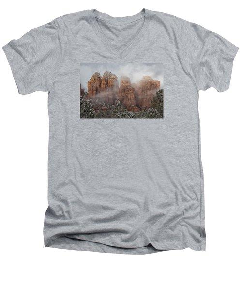 Sugarloaf Trail  Men's V-Neck T-Shirt by Tom Kelly