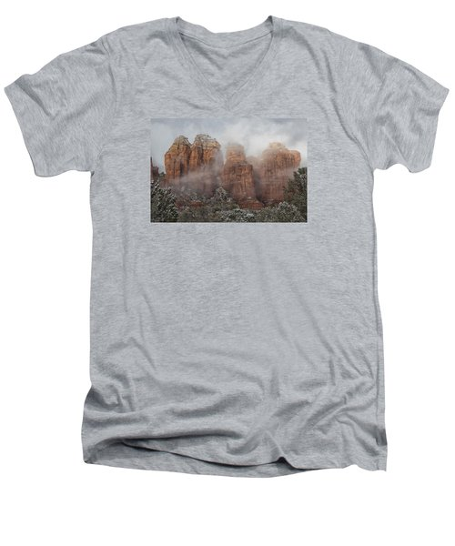 Sugarloaf Trail  Men's V-Neck T-Shirt
