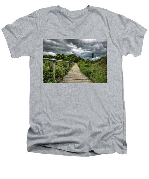 Sullivan's Island Summer Storm Clouds Men's V-Neck T-Shirt