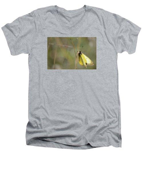 Sulphur Dreams Men's V-Neck T-Shirt by Janet Rockburn