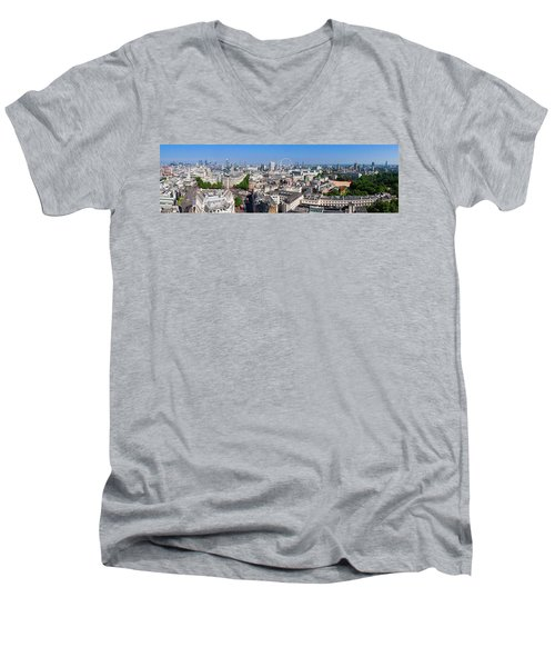 Sumer Panorama Of London Men's V-Neck T-Shirt