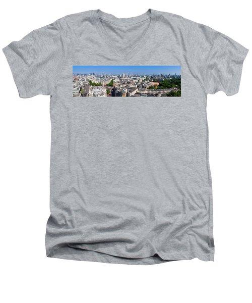 Sumer Panorama Of London Men's V-Neck T-Shirt