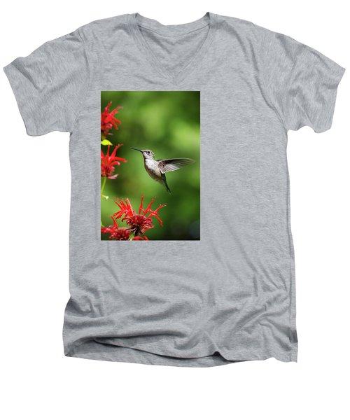 Summer Beauty Men's V-Neck T-Shirt