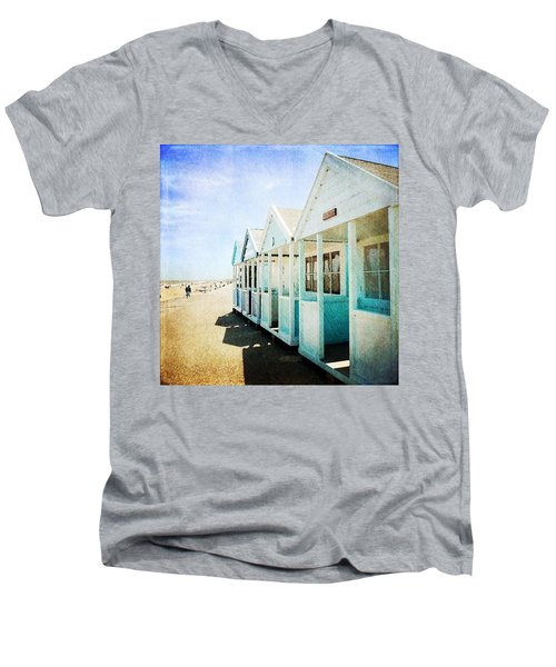 Men's V-Neck T-Shirt featuring the photograph Summer Breeze by Anne Kotan