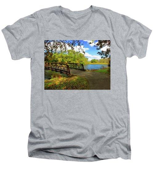Summer Crossing Men's V-Neck T-Shirt