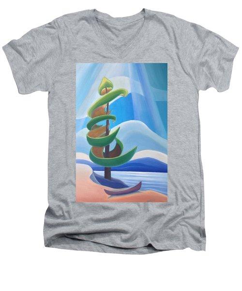 Summer Dance Men's V-Neck T-Shirt