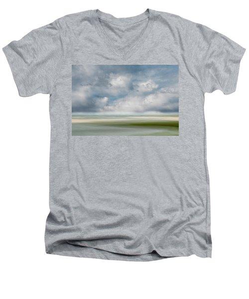 Summer Day, Dennis Men's V-Neck T-Shirt