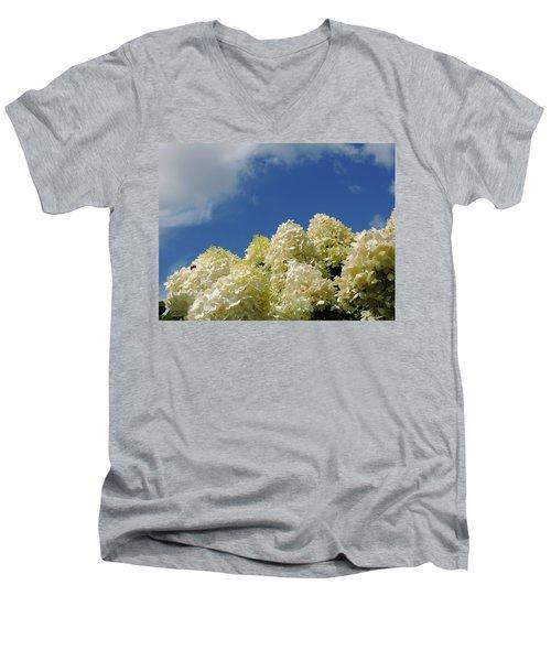 Summer Day Men's V-Neck T-Shirt by Teresa Schomig
