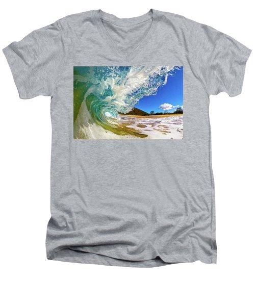Summer Days Men's V-Neck T-Shirt by James Roemmling
