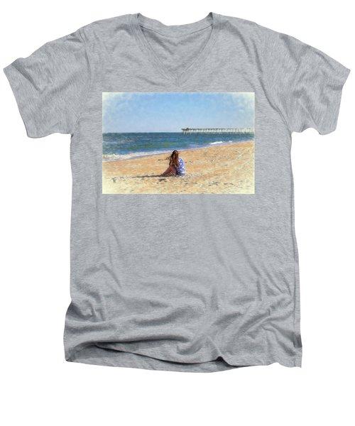 Summer Dream Men's V-Neck T-Shirt