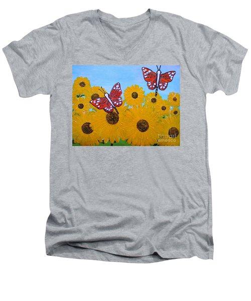 Summer Dreams Men's V-Neck T-Shirt