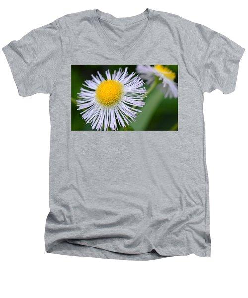 Summer Flower Men's V-Neck T-Shirt