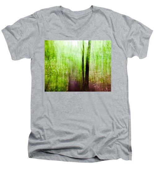 Summer Forest Men's V-Neck T-Shirt